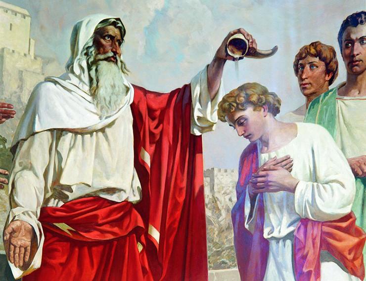 Саул и Давид история