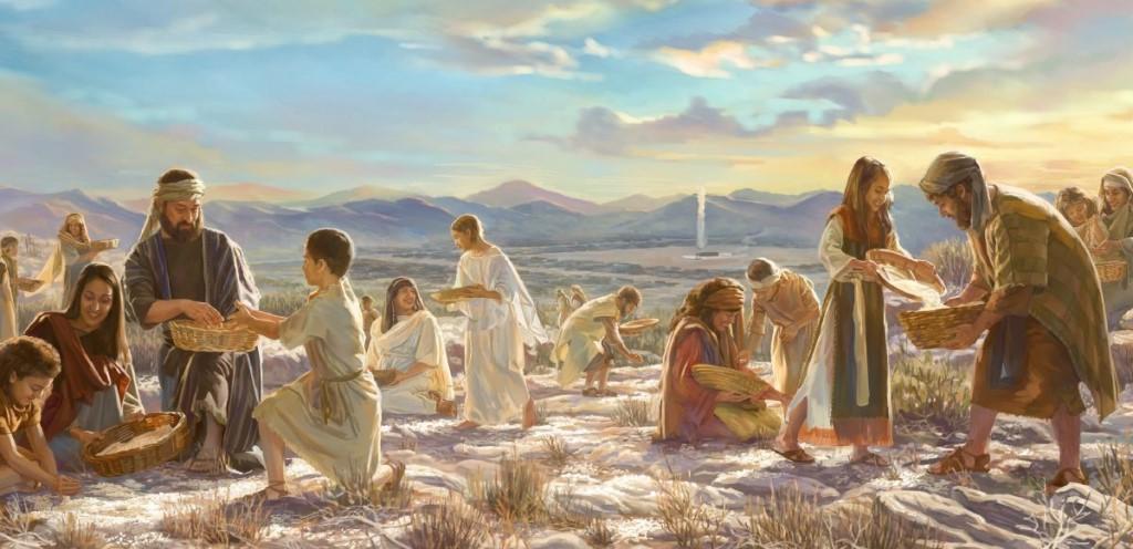 Манна небесная значение и происхождение