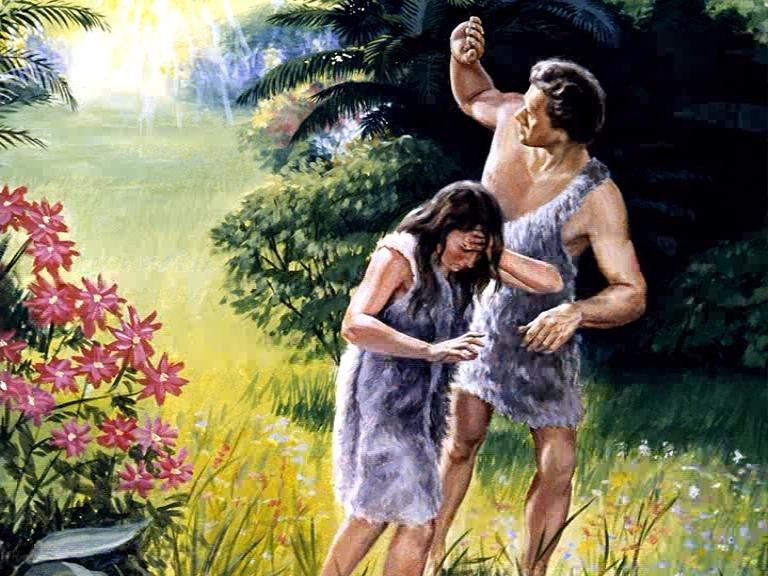 Адам и ева в картинках