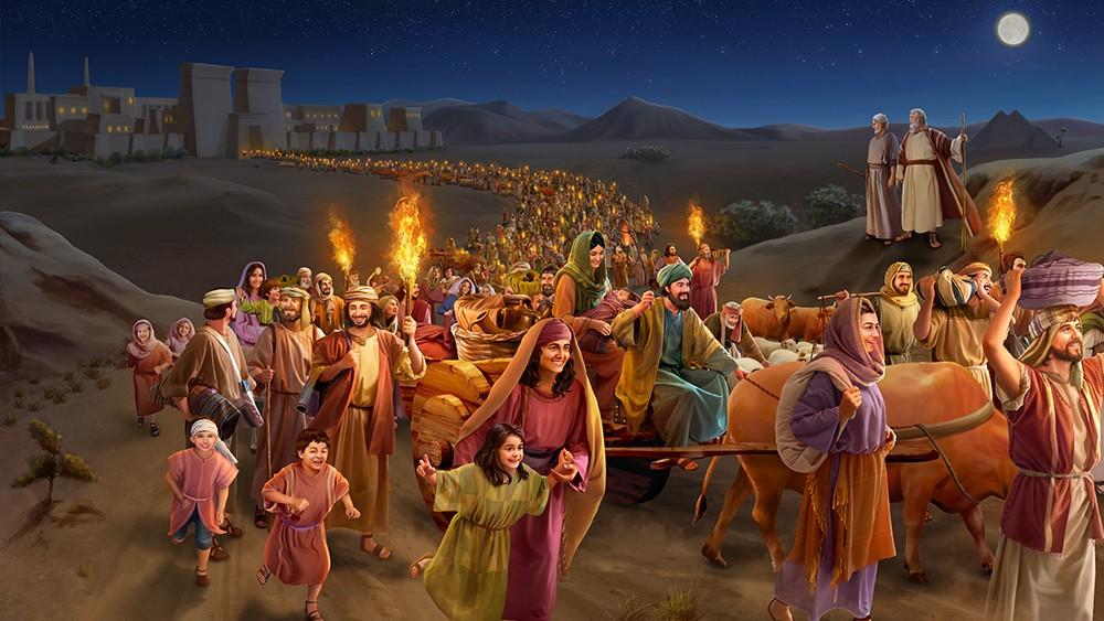 Путь Моисея.