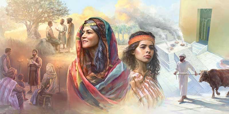 Сарра и Агарь; Закон и благодать;