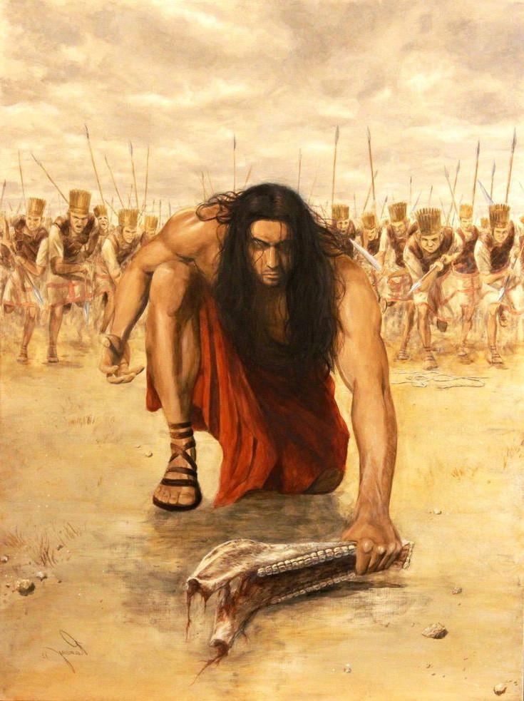 История Самсона в Библии