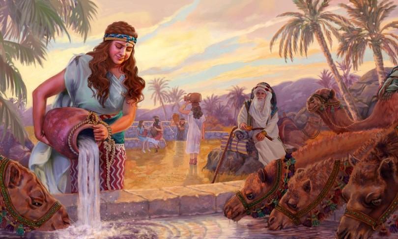 Авраам, Исаак и Ревекка
