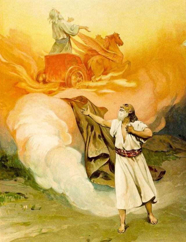 Елисей и Илия в Ветхом Завете