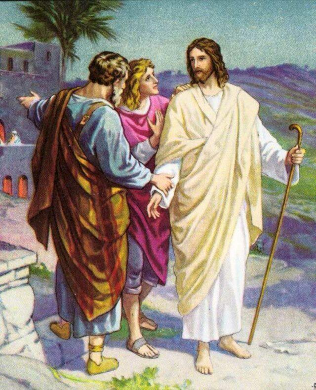 Апостолы и Иисус