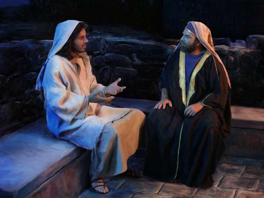 Беседа Иисуса с Никодимом