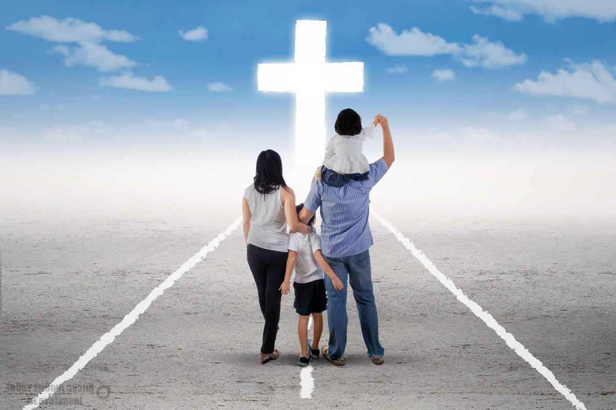 Семья христиане
