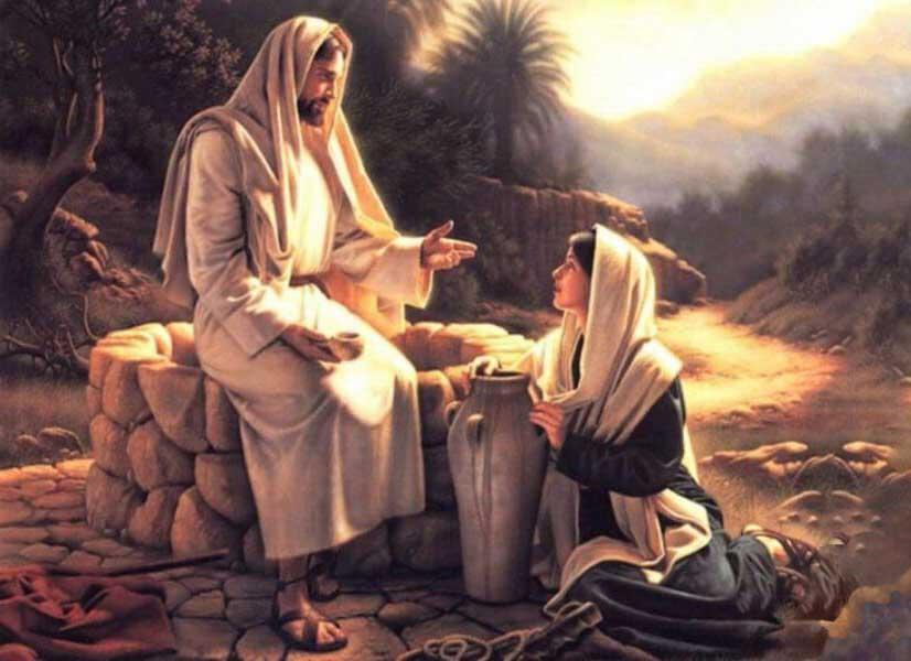 Самарянка и Иисус
