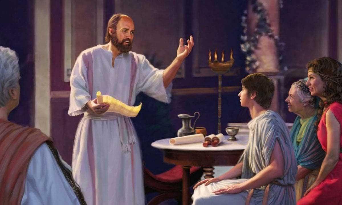 Проповедь Павла