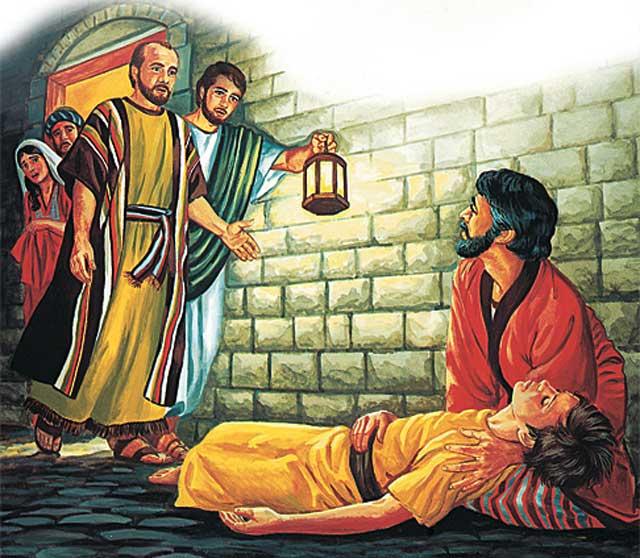 Апостол Павел и Евтих