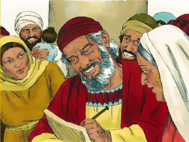 Захария в Евангелии