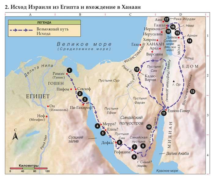 Исход Израильского народа из Египта