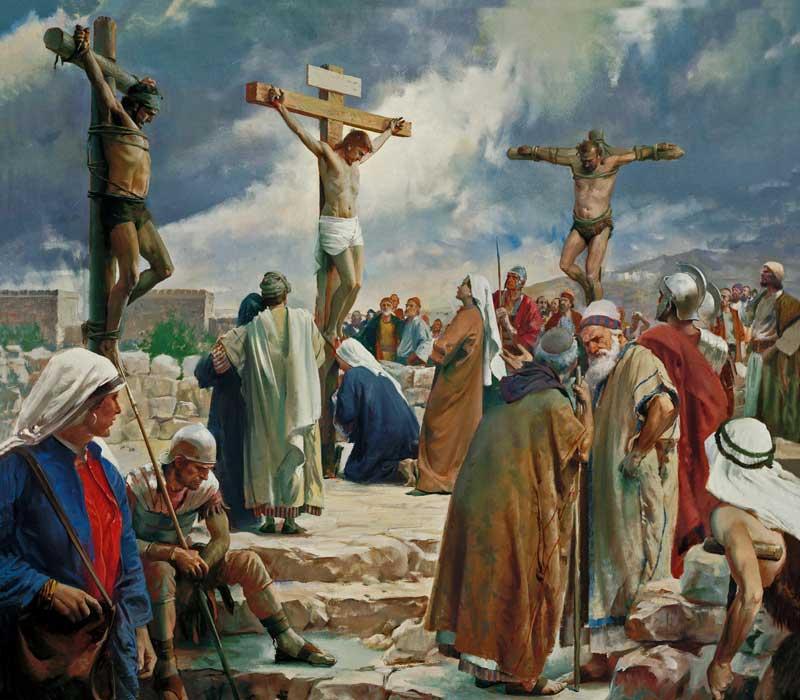 Под защитой Крови Иисуса Христа