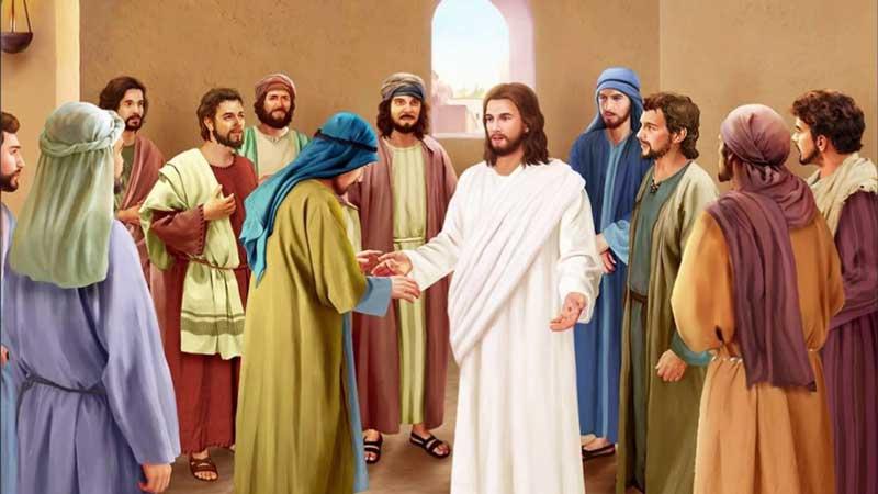 Иисус явился ученикам