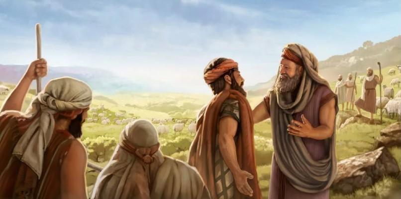 Лот и Авраам