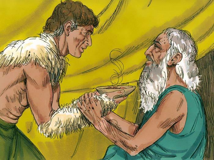 Иаков обманывает отца