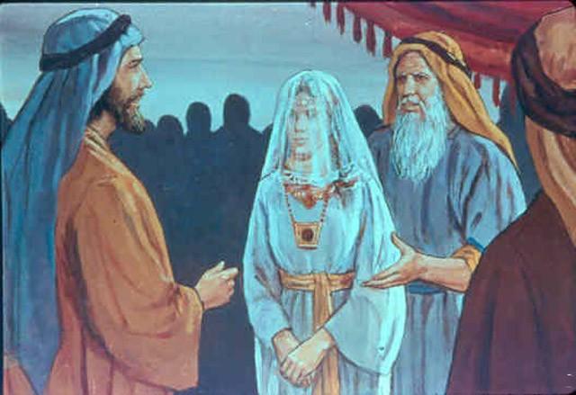 Иаков , Рахиль и Лия