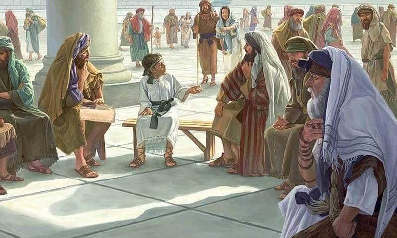 Маленький Ииус в Храме