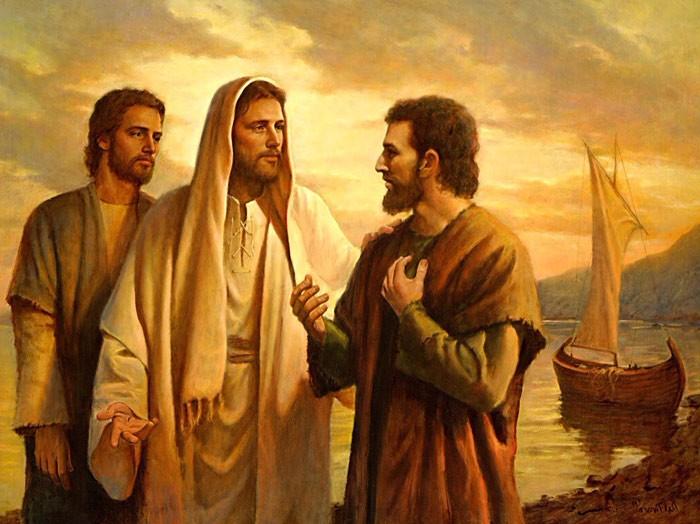 Пётр и Иисус