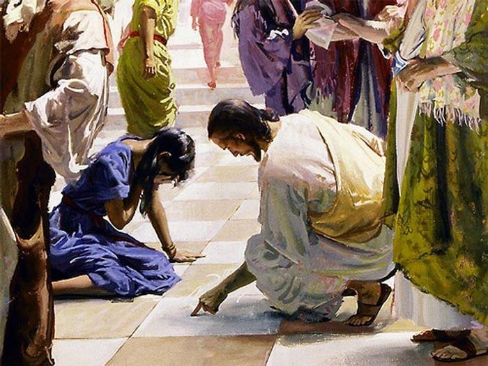 И буду их Богом: Иисус прощает грешницу