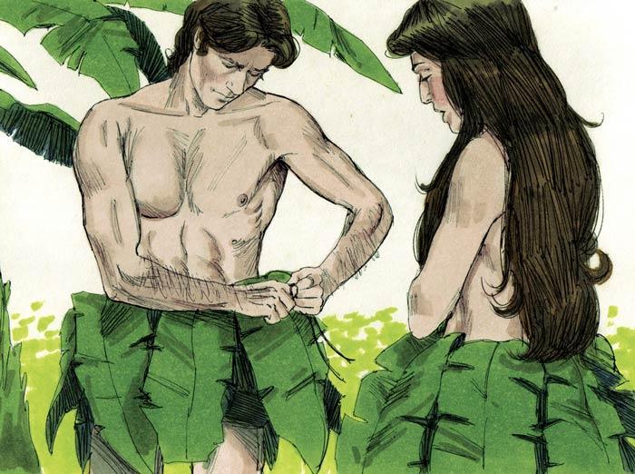 Адам и Ева согрешили