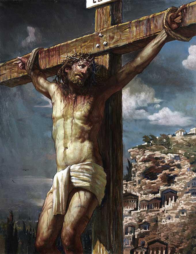 Распятие Христа за грехи человека