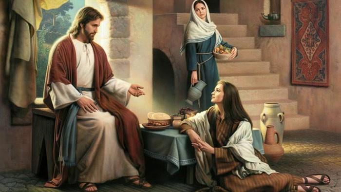 Не заботиться ни о чём. Мария, Марфа и Иисус