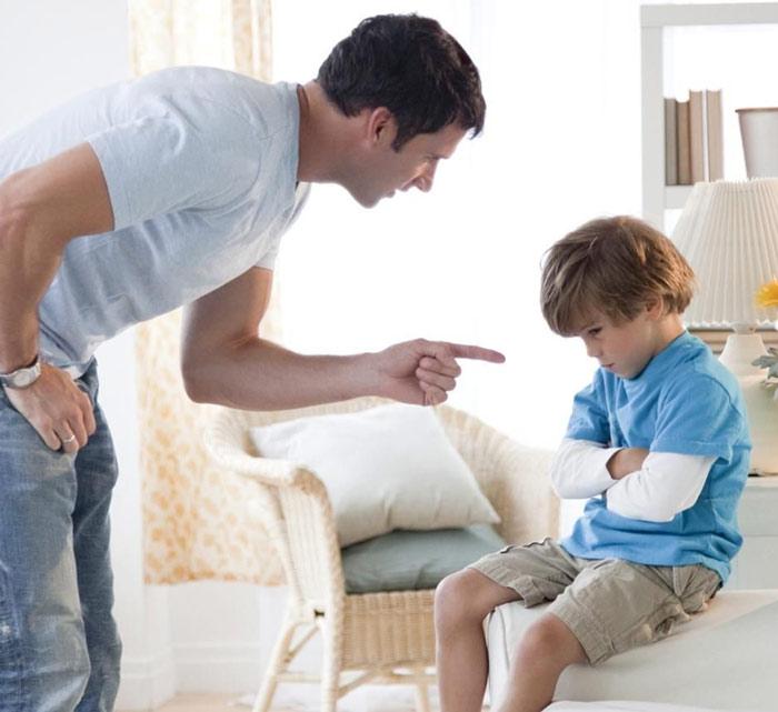 Что заставляет гневаться на ребёнка